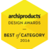 Archiproducts Design Award 2016: okno FAKRO DXW nagrodzone Best of Category